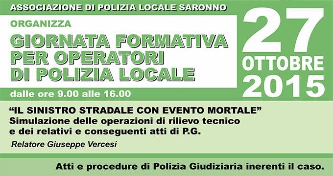 Studio CIS Sponsor Evento Formativo Operatori Polizia Locale