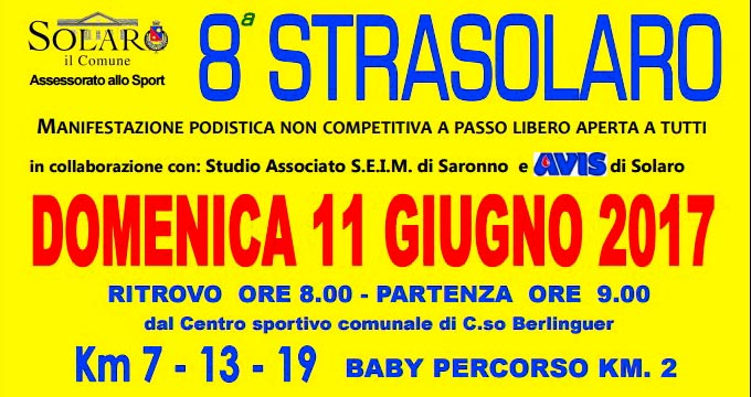 Studio CIS Sponsor Dell'8^ Strasolaro