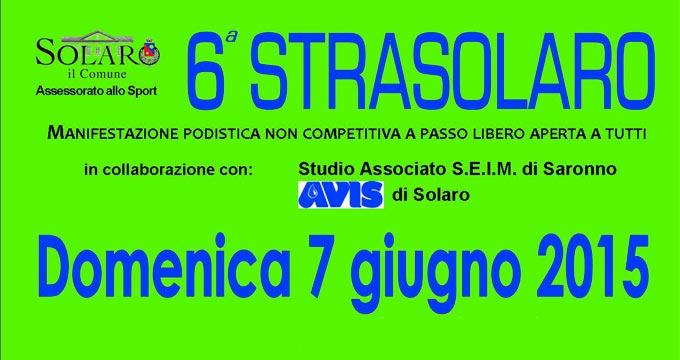 Studio CIS Sponsor Manifestazione Strasolaro Giugno 2015