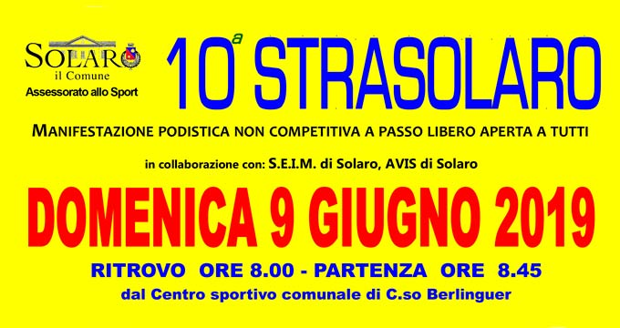 Studio CIS Sponsor Della 10^ Strasolaro